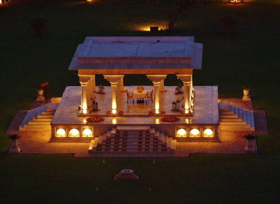 Cena privada, Umaid Palace