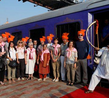 Deccan Odyssey - Bienvenida a bordo
