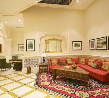 ITC Grand Bharat - Lobby