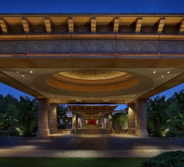 Leela Goa - Entrada al lobby
