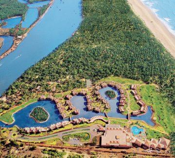 Leela Goa - Vista aérea del resort