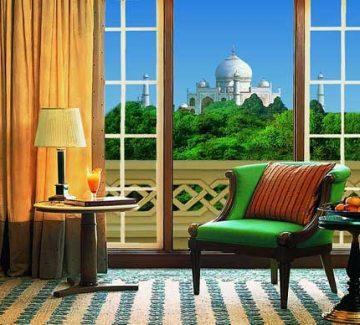 Oberoi Amarvilas - Vista del Taj Mahal desde habitación