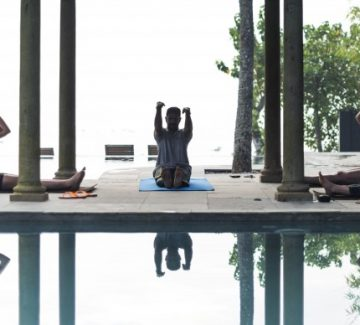 Purity Lake Vembanad - Yoga en el Spa