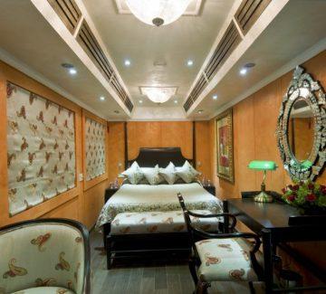 Royal Rajasthan sobre ruedas - Deluxe Saloon Diamond