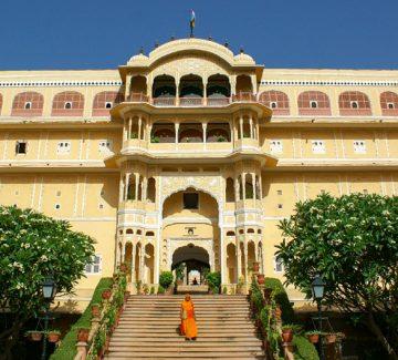 Samode Palace - Entrada principal