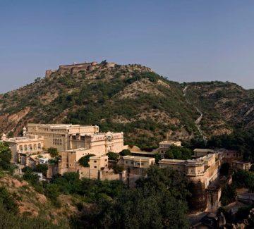 Samode Palace - Vista aérea