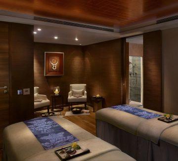 The Leela, Kovalam - el Spa, Sala de tratamiento para parejas
