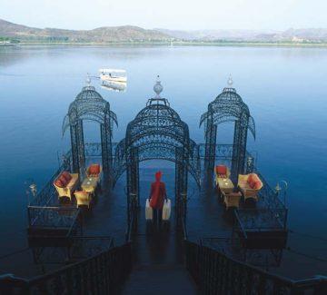 Taj Lake Palace Udaipur - Badi Pal Jetty