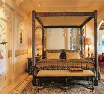 Taj Lake Palace Udaipur - Mayur Mahal Bedroom