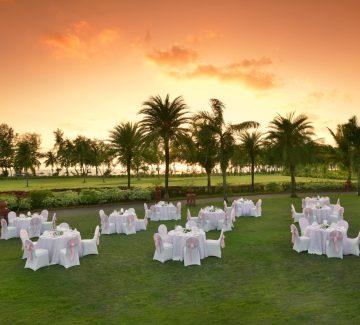 The Lalit, Goa - Cena al aire libre