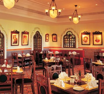 The Taj Exotica, Goa - Restaurante