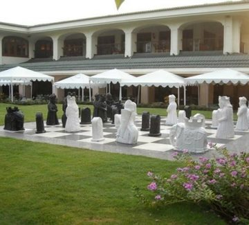 The Taj Exotica, Goa - Tablero de ajedrez exterior