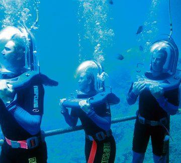 Oceanwalking, Agincourt Reef