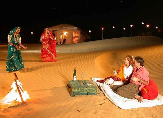 Dance in Desert
