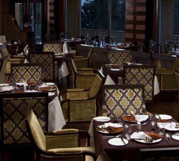 Khyber Himalayan Resort - Restaurante Cloves
