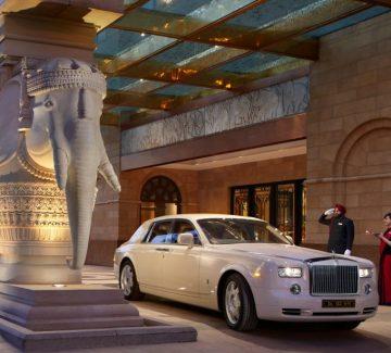 Leela Palace – New Delhi - Gran llegada