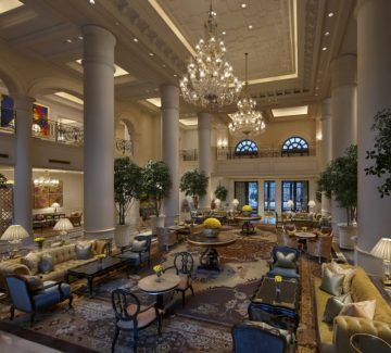 Leela Palace – New Delhi - Lobby Lounge