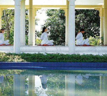 Oberoi Rajvilas - Sesión de Yoga