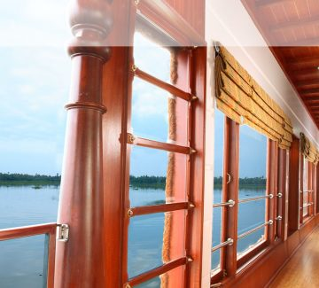 Rainbow Cruises - Vista desde el deck