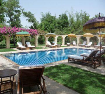 Relax en la piscina - Oberoi Vanyavilas