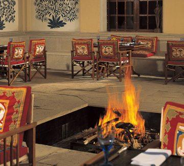 Restaurante - Oberoi Vanyavilas