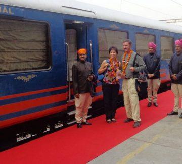 Royal Rajasthan sobre ruedas - Bienvenida a bordo