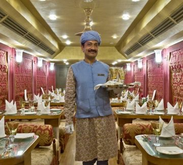 Royal Rajasthan sobre ruedas - Restó Swarn Mahal