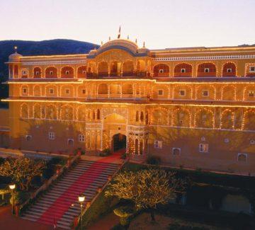Samode Palace - Atardecer