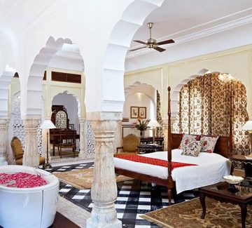 Samode Palace - Deluxe Suite