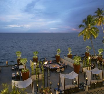 The Leela, Kovalam - Bar exterior