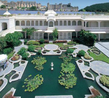 Taj Lake Palace Udaipur - Lily Pond