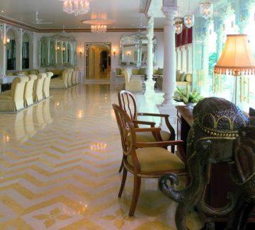 Taj Lake Palace Udaipur - Lobby
