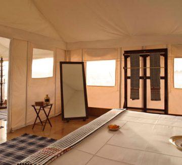 The Serai - Interior campamento