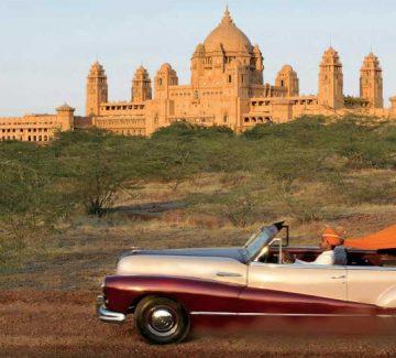 Umaid Bhawan Palace - Auto antiguo