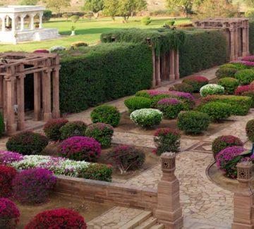 Umaid Bhawan Palace - Jardín