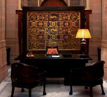 Umaid Bhawan Palace - Recepción