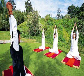 Yoga - Oberoi Vanyavilas
